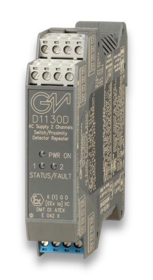 D1130D - Switch/Proximity Detector Repeater Relay Output