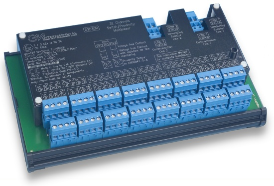 D2030M - Intrinsically Safe Digital Multiplexer