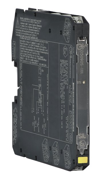D5090S - 5 A SIL 3 Relay Output Module for NE Load