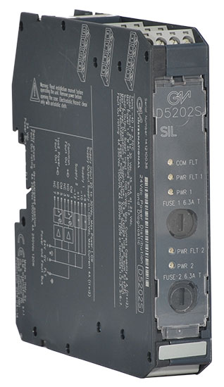 D5202S - SIL 3, 4 A, 24 Vdc Power Distribution and Diagnostic Module
