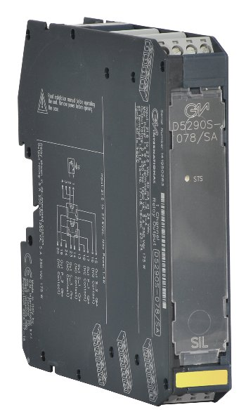 D5290S-078/SA - 5 A SIL 3 Relay Output Module for NE or ND Loads with NE Relay condition
