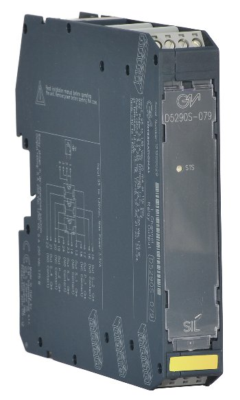 D5290S-079 - 5 A SIL 3 Relay Output Module (115 Vac coil voltage) for NE or ND Loads with NE Relay condition