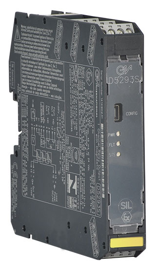 D5293S - 4 A SIL 3 Relay Out Module for NE Load with open/short circuit diagnostic