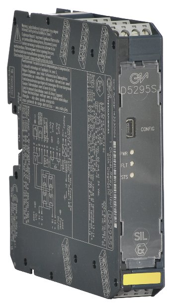 D5295S - 4 A SIL 3 NC contact Relay Out Module for NE or F&G/ND Load with open/short circuit diagnostic