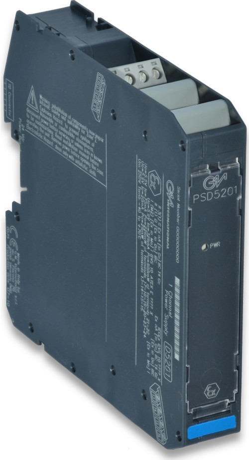 PSD5201 - SIL 3 Power Supply for Hazardous Area Equipment